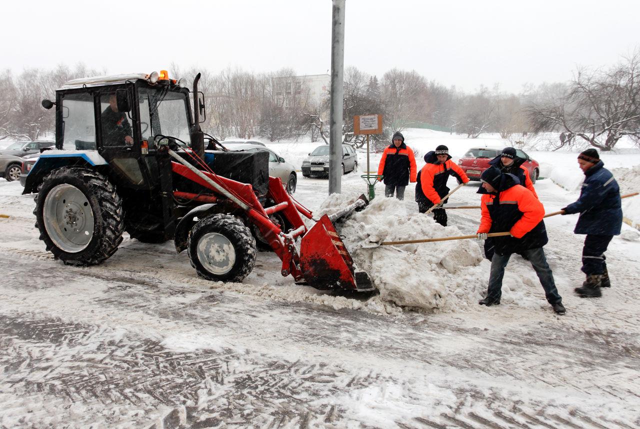 Очистка города от снега велась в плановом режиме