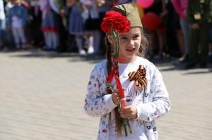 Торжественное мероприятие, посвященное 73-й годовщине Великой Победы, прошло в Серебряных Прудах