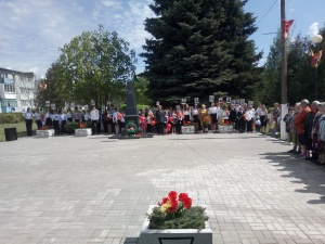 9 мая на центральной площади с. Мочилы
