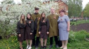 В Шеметовском СДК провели акцию «Георгиевская лента»